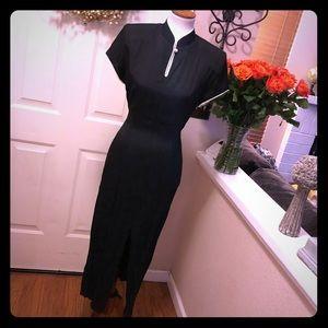 Vintage Blondie & Me Black Japanese Inspired Dress